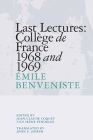 Last Lectures: Collège de France 1968 and 1969 Cover Image