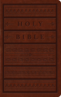 ESV Large Print Personal Size Bible (Trutone, Brown, Engraved Mantel Design) Cover Image