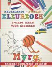 Kleurboek Nederlands - Zweeds I Zweeds Leren Voor Kinderen I Creatief Schilderen En Leren Cover Image