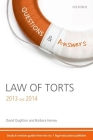 Law of Torts Cover Image