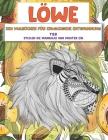 Zen Malbücher für Erwachsene Entspannung - Stellen Sie Mandalas und Muster ein - Tier - Löwe Cover Image