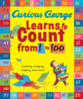 Curious George Learns to Count from 1 to 100 Big Book Cover Image