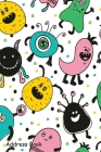 Address Book: For Contacts, Addresses, Phone, Email, Note, Emergency Contacts, Alphabetical Index With Funny Monster Cover Image