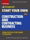 Start Your Own Construction and Contracting Business: Your Step-By-Step Guide to Success (Startup) Cover Image