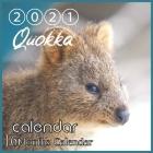 Quokka Calendar 2021: Quokka Australian Animal 8.5x8.5 Inch Wall 2021 Calendar Cover Image