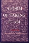 FORM OF TAKING IT ALL Cover Image