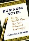 Business Notes: Writing Personal Notes That Build Professional Relationships Cover Image