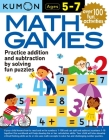 Math Games Age 5-7 Cover Image