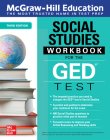McGraw-Hill Education Social Studies Workbook for the GED Test, Third Edition Cover Image