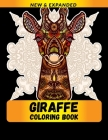 Giraffe Coloring Book: Stress Relieving Animals Designs Cover Image