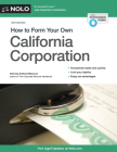 How to Form Your Own California Corporation Cover Image