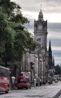 Notebook: Edinburgh Scotland Tourism United Kingdom Cover Image