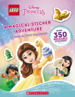 A Magical Sticker Adventure  (LEGO Disney Princess: Sticker Activity Book) Cover Image