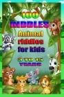 100 Riddles Animal Riddles for Kids: 100 riddles for smart kids Cover Image