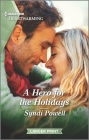 A Hero for the Holidays: A Clean Romance Cover Image