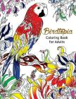 Bird Topia Coloring Book For Adults: Stress Relief Coloring Book For Grown-ups Paisly, Henna and Mandala Parrot, Budgerigar, Lovebird, Owl, Pigeons, H Cover Image