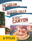 Natural Wonders of the World (Paperback Set of 8) Cover Image
