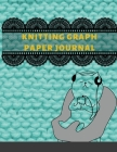 Knitting Graph Paper Journal: Knitters Graph Paper Notebook 4: 5 Ratio Journal to record & organize all of your knitting projects, 110 Pages, 8.5x11 Cover Image