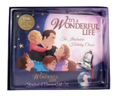 It's a Wonderful Life: The Illustrated Holiday Classic Gift Set: (Christmas Gift Set, Christmas Bell Ornament, Classic Movie Picture Book) Cover Image