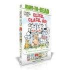 Click, Clack, Go!: Click, Clack, Moo; Giggle, Giggle, Quack; Dooby Dooby Moo; Click, Clack, Boo!; Click, Clack, Peep!; Click, Clack, Surprise! (A Click Clack Book) Cover Image