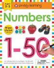 Wipe Clean Workbook: Numbers 1-50: Ages 3-5; wipe-clean with pen (Wipe Clean Learning Books) Cover Image