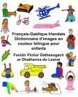 Français-Gaélique Irlandais Dictionnaire d'images en couleur bilingue pour enfants Foclóir Pictiúr Dátheangach ar Dhathanna do Leanaí Cover Image