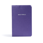 KJV Gift and Award Bible, Purple Imitation Leather: Red Letter, Easy-to-Carry, Smythe Sewn, Full-Color Maps, Double Column, Concordance, Dictionary, Great Value Cover Image