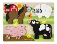Chunky Jigsaw Puzzle - Farm Animals Cover Image