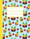 Pineapple: Composition Notebook For Kids, Collage Ruled, Perfect For School Notes, Cute Design Cover Image
