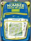 Number Puzzles and Games, Homework Helpers, Grades K-1 Cover Image
