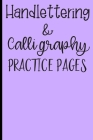 Handlettering & Calligraphy Practice Pages: Dot Grid Pages for Flawless Writing Cover Image