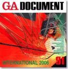 GA Document 91 - International 2006 Cover Image
