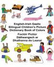 English-Irish Gaelic Bilingual Children's Picture Dictionary Book of Colors Foclóir Pictiúr Dátheangach ar Dhathanna do Leanaí Cover Image
