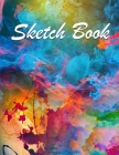 Sketch Book: Blank Paper Notebook for Drawing, Painting, Writing, Sketching or Doodling, 102 blank pages, 8.5 x 11 (Mary Publishing Cover Image