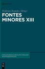 Fontes Minores XIII Cover Image