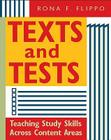 Texts and Tests: Teaching Study Skills Across Content Areas Cover Image