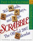 The Official Scrabble Page-A-Day Calendar 2007 Cover Image