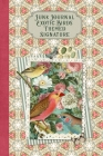 Junk Journal Exotic Birds Themed Signature: Full color 6 x 9 slim Paperback with ephemera to cut out and paste in - no sewing needed! Cover Image