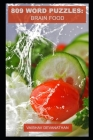 809 Word Puzzles: Brain Food Cover Image