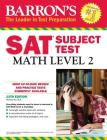 Barron's SAT Subject Test: Math Level 2, 12th Edition Cover Image