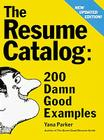 The Resume Catalog Cover Image