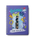 Friends: 12-Month Undated Planner: (Friends TV Show Gift, Friends Planner, Friends Gift, Undated Planner) Cover Image
