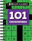Brain Games Mini - 101 Crosswords Cover Image