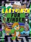 Labyrinth für Kinder 4-8: Erstaunliches 108-Seiten-Labyrinth-Aktivitätsbuch │ Labyrinth-Arbeitsheft für Kinder mit herausfordernden Spiele Cover Image