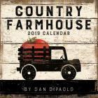 Country Farmhouse 2019 Wall Calendar Cover Image