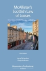 McAllister's Scottish Law of Leases Cover Image