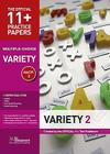 11+ Practice Papers, Variety Pack 2, Multiple Choice Cover Image