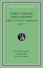 Early Greek Philosophy, Volume III: Early Ionian Thinkers, Part 2 (Loeb Classical Library #526) Cover Image