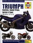Triumph Daytona, Speed Triple, Sprint & Tiger: 885/955cc '97 to '05 (Haynes Service & Repair Manual) Cover Image