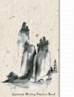 Japanese Writing Practice Book: Japanese Watercolour Themed Genkouyoushi Paper Notebook to Practise Writing Japanese Kanji Characters and Kana Scripts Cover Image